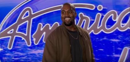 kanye west appears in commercial for final season of american idol