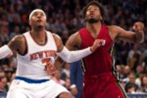 justise winslow shows carmelo anthony why he was top 10 pick