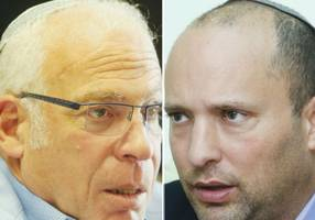 Ariel tells Bennett to set red lines for staying in Netanyahu coalition