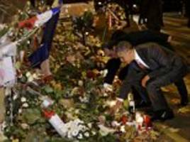 President Obama pays tribute to Paris attacks victims at Bataclan concert hall