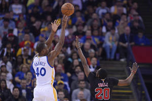 Warriors expect Barnes to be sidelined at least a week