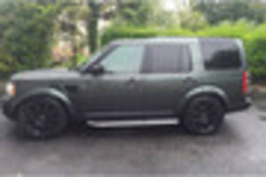 Land Rover Discovery stolen from Plymouth body shop was once...