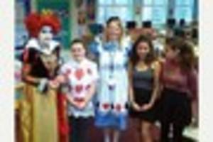 Ansford Academy students and staff dress up for very important...