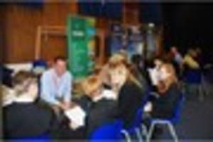 Castle Cary students meet local employers at work related...