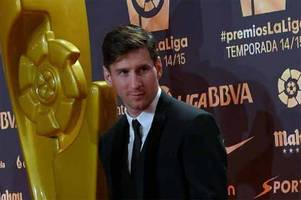 football: lionel messi voted top spanish league's top striker for 2014-2015