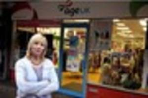 'despicable' thieves stole television from burntwood charity shop