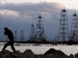 fire kills 32 oil workers in caspian sea