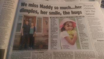 madeleine mccann: back for christmas in a daily express emergency news scoop