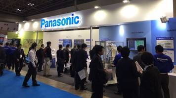 panasonic introduced its tomato-picking robot and parallel link robot at international robot exhibition 2015