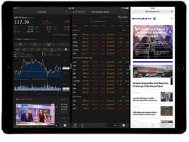 bloomberg delivers first financial enterprise app for ipad pro