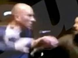 norwich goalkeeper john ruddy 'knocks man to the floor with uppercut' in late-night fracas that was caught on camera