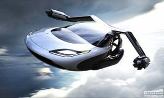 the flying car just got approved for testing - photo gallery