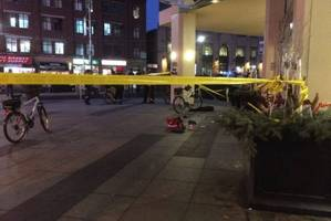 man injured by machete attack near eaton centre