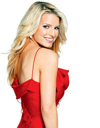 jessica simpson eyes the small screen