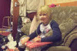 brave girl, 7, continues to battle rare brain cancer after being...