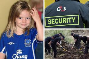 scotland yard used ex-police from private firm g4s to help hunt for missing madeleine mccann