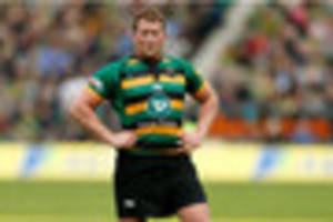 dylan hartley's england captaincy hopes hit by losing northampton...
