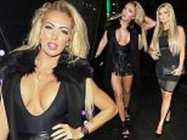 aisleyne horgan-wallace puts on a very busty display with nicola mclean