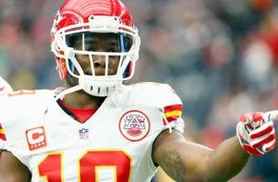 report: chiefs wr jeremy maclin avoids torn acl, sustains high ankle sprain