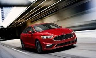 2017 ford fusion facelift unveiled at detroit auto show - photo gallery