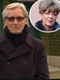 coronation street: bill roache pays tribute to anne kirkbride one year on from death - 'i remember the rows!'
