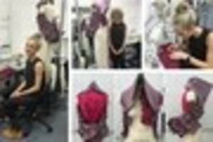 cambridge news published cambridge fashion student to have her work displayed at london...