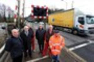 st blazey level crossing closure in a relationship