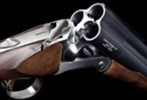 when letting them have it with both barrels just isn't enough: triple barrel shotgun launched at las vegas firearms show