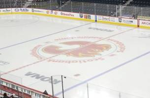 flames president brian burke wants bigger nhl ice surfaces