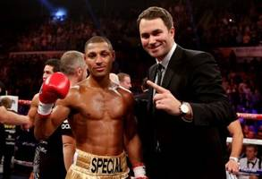 eddie hearn offers khan 60-40 split to take on brook