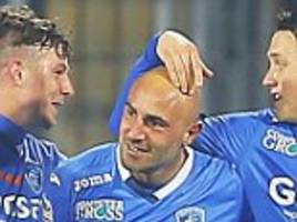 empoli 2-2 ac milan: former middlesbrough flop massimo maccarone scores as mario balotelli fluffs his lines to grab late winner