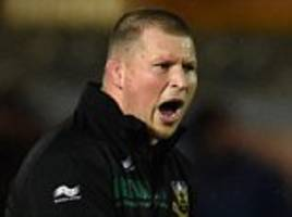 scarlets 10-22 northampton: dylan hartley gears up for expected england captaincy by inspiring his side to victory