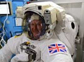 black dog: this is big ben to major tim... astronaut to become the first person to give evidence to mps while orbiting earth