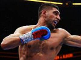 amir khan accuses kell brook of running from £12m wembley showdown