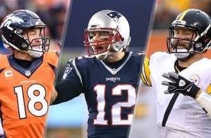 peyton, brady and big ben have dominated the afc for last 15 years