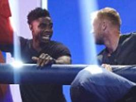 micah richards reveals he almost came to blows with mario balotelli in manchester city training… before splitting his pants in pillow fight with andrew flintoff