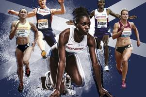 sprint sensation dina asher-smith: i've wanted to be an olympic ace since the age of eight.. i'm eyeing up the rio games