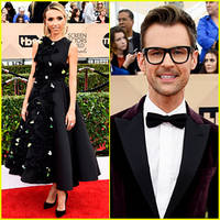 Giuliana Rancic & Brad Goreski Are Red Carpet Ready for SAG Awards 2016