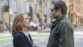 x-files stars: 'our chemistry is beyond'