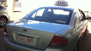 cabbie fled the country after rape