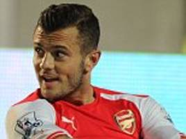 arsene wenger reassures roy hodgson that jack wilshere will be ready for euro 2016 despite a delay in his comeback