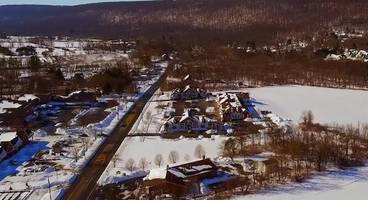 WATCH: Long Valley Turns White After Blizzard Of '16
