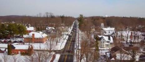 WATCH: Chester Turns White After Blizzard Of '16