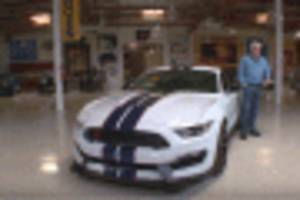 jay leno revealed as one of the 37 owners of a 2015 ford mustang shelby gt350r: video