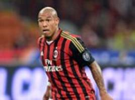 nigel de jong completes his move to la galaxy after his contract at ac milan was terminated