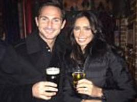 frank lampard and christine bleakley head out for a tipple to toast her 37th birthday