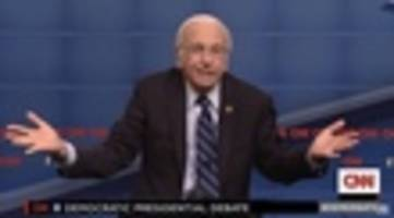 Larry David Was Eager To Play Bernie Sanders On Saturday Night Live