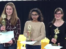 Photo: Valley View Spelling Bee Winners