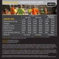Bi-Annual Senior Housing Construction Cost Data Reveals Skilled Labor Shortage Continues to Be an Issue