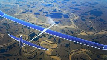 Google Skybender project is testing 5G solar drones over New Mexico